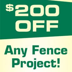 200-off-any-fence